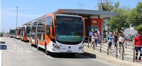 Transcaribe, o BRT de Cartagena, na Colômbia