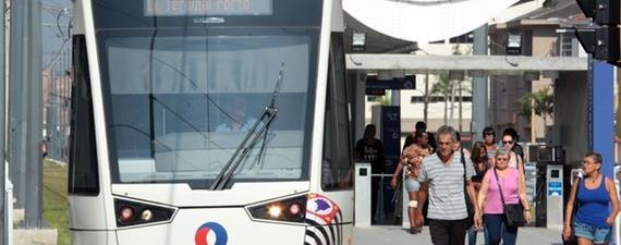 VLT da Baixada Santista ganha dois novos trens e reduz intervalo