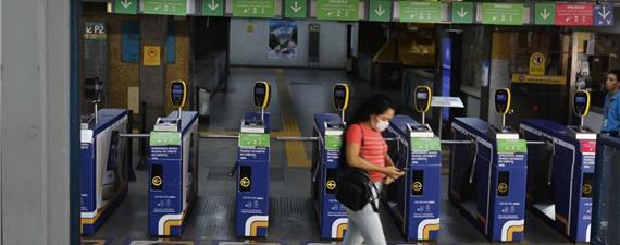 Transporte sobre trilhos teve 73,2% menos usuários no segundo trimestre