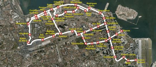 Estudo de demanda do VLT do Rio de Janeiro