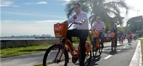 No dia da bicicleta, BikePoa celebra 1 milhão de viagens