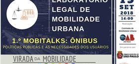 Mobitalks: 1º laboratório de mobilidade sobre políticas de ônibus em SP