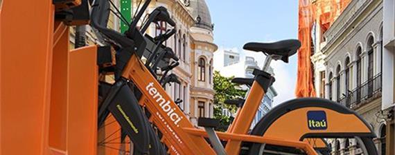 Bike PE terá o dobro de estações a partir de 2019, anuncia governo