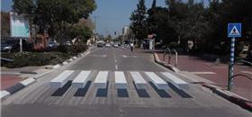 Cidades de Israel usam criatividade para dar segurança ao pedestre