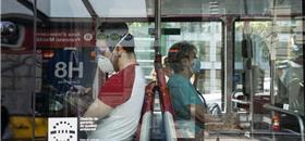 Quer evitar contágios? Fique em silêncio no transporte público
