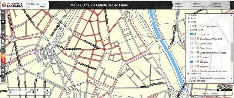 Clique para acessa o GeoSampa