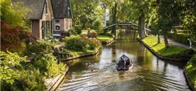 Cidade na Holanda não tem carros nem estrada