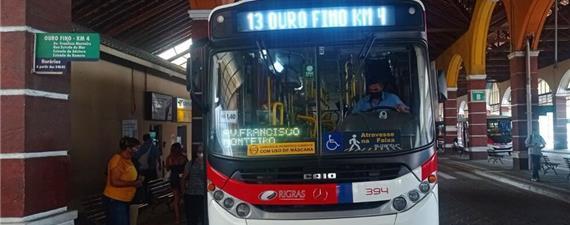 Ribeirão Pires (SP) terá tarifa zero no transporte aos domingos e feriados