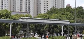 Monotrilho tem vida útil 6 vezes maior do que BRT, diz estudo
