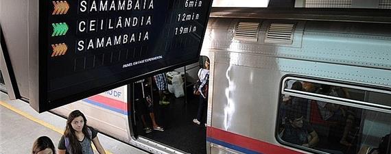 Privatizar o Metrô-DF é mau negócio para a população, dizem entidades