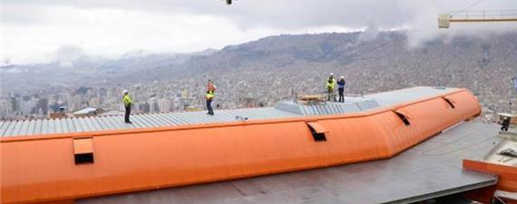 Bolívia começa a construir a quinta linha de teleféricos