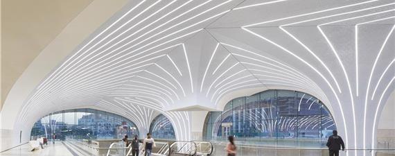 Metrô de Doha inova em design para atrair pessoas ao transporte público