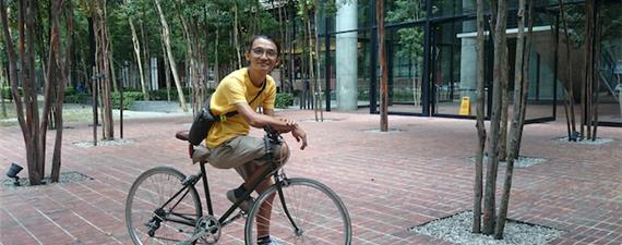 Ele trouxe as bikes de volta às ruas de KL