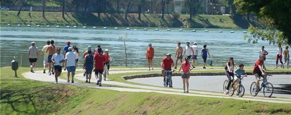 Ciclovia na orla da Lagoa da Pampulha (BH) será ampliada