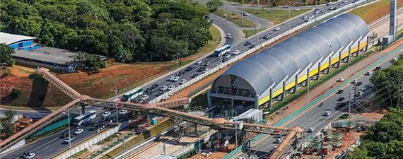 Brasil ganhou apenas 30 km de trilhos urbanos em 2017