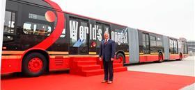 TransMillenio vai operar maior ônibus elétrico do mundo