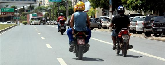 Mais de 70% dos acidentes de trânsito em Cuiabá envolvem motociclistas