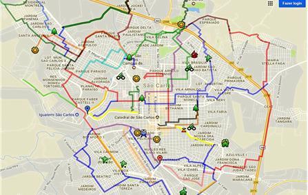 Mapas de São Carlos