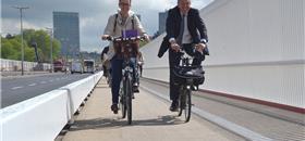 Luxemburgo inaugura ciclovia sobre a