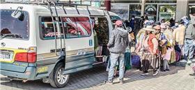 Volta do transporte público provoca greve de fome na Bolívia