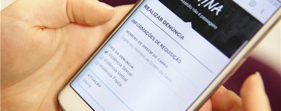 Fortaleza lança app para denúncia de assédio no transporte