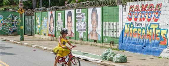 Heliópolis, na zona sul de SP, recebe o Festival Bike Arte Gira