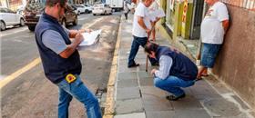 Porto Alegre: 1,8 mil calçadas têm problemas no Centro