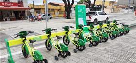 Em Fortaleza, crianças ganham mais uma estação de bikes públicas