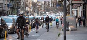 Buenos Aires expande sua rede cicloviária a grandes avenidas