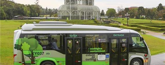 Curitiba começa hoje (3) a testar novo ônibus a bateria