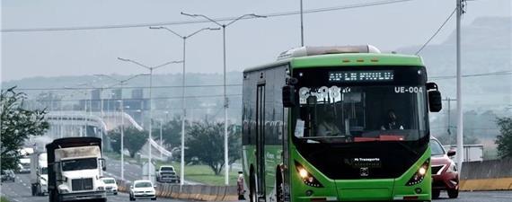 Guadalajara inicia operação de 38 ônibus elétricos