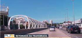 Obra do BRT Transbrasil é retomada, e deve terminar em 2023