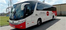 Ônibus elétrico movido a energia solar começa a circular no Ceará