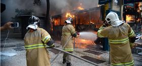 Incêndios criminosos ameaçam o transporte público no país