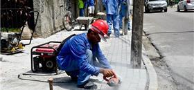 Recife inicia nova ação para reforma de calçadas