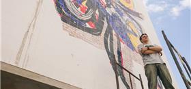 Curitiba inaugura neste sábado (22) mural sobre mobilidade urbana