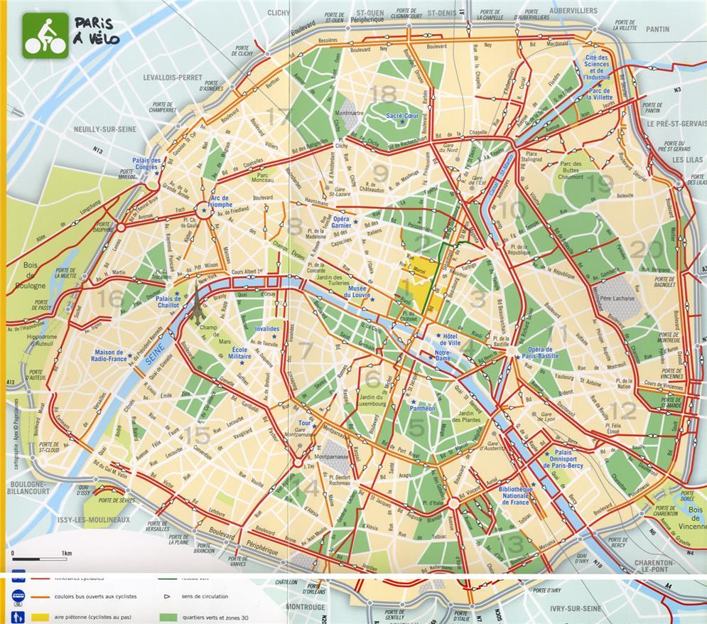 Paris a Velo - Sistema Público de Bicicletas