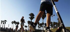 Acidente com patinete elétrico pode causar lesão grave, diz estudo