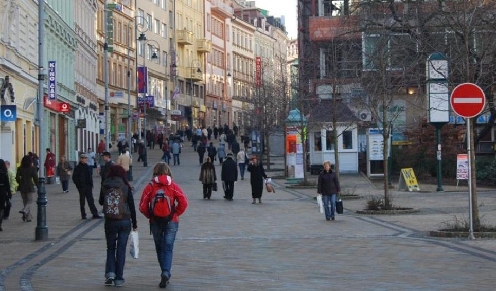 Pedestre necessita de um bom ambiente para caminha