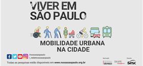 Pesquisa traz a percepção do paulistano sobre mobilidade na cidade