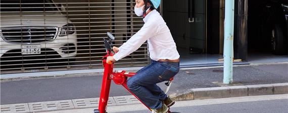 Tóquio inova com serviço de patinetes elétricos para ir sentado