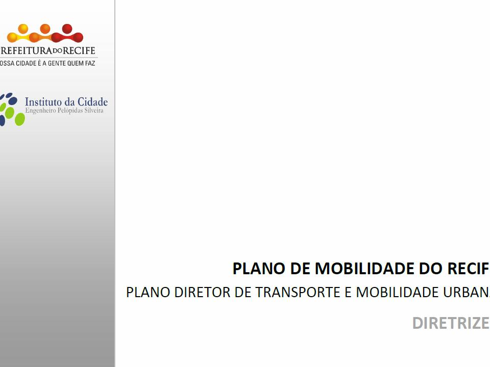 Plano de Mobilidade do Recife (diretrizes)