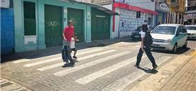 Escolas terão faixas de pedestre elevadas em Campina Grande (PB)
