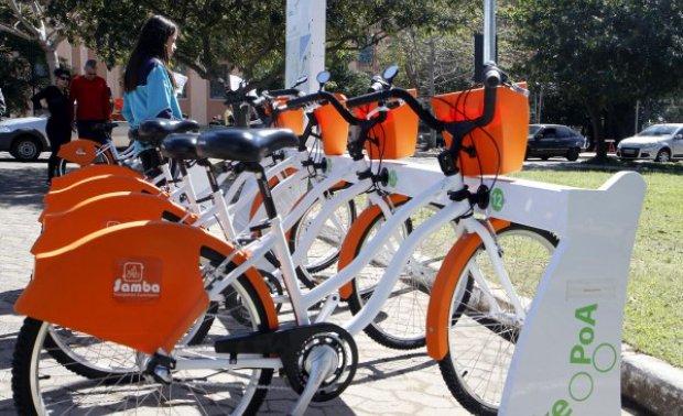 Programa Bike POA de bicicletas compartilhadas