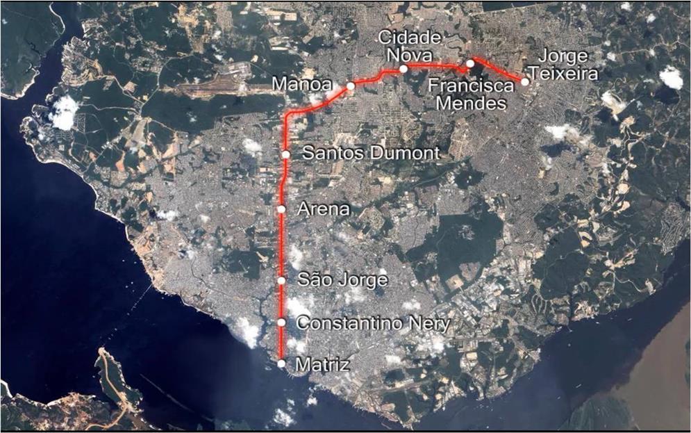 Projeto do Monotrilho de Manaus