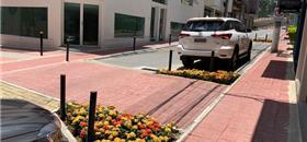 Em Alphaville, ruas ganham espaços para pedestres