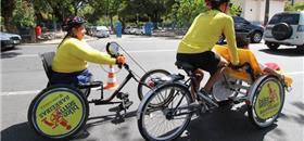 Recife Antigo recebe bicicletário do Bike sem Barreiras