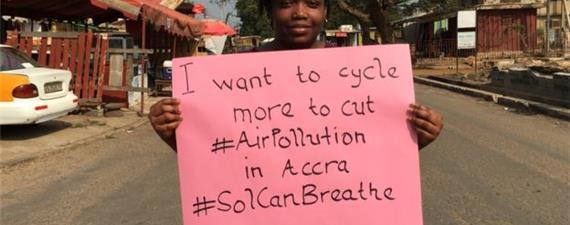O que você faria para reduzir a poluição do ar na sua cidade?