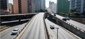 Poluição do ar em SP cai pela metade com greve dos caminhoneiros