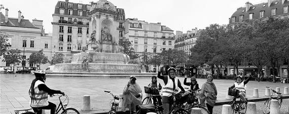 Passeio de bike por Paris vai marcar o Dia Mundial dos Refugiados